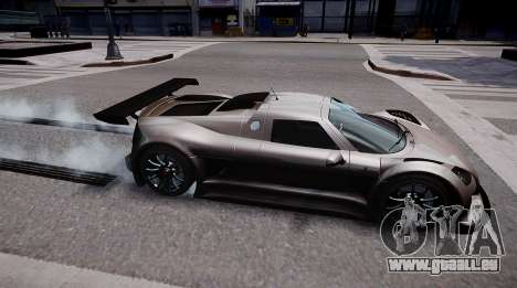 Gumpert Apollo Sport 2011 pour GTA 4 est une gauche