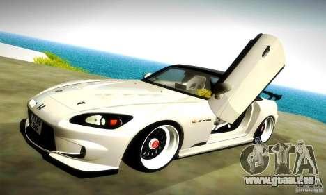 Honda S2000 JDM Tuning für GTA San Andreas Räder