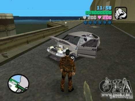 VAZ-2112 pour une vue GTA Vice City de la droite