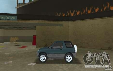 Toyota RAV4 pour une vue GTA Vice City de la gauche