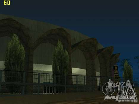 GTA SA IV Los Santos Re-Textured Ciy für GTA San Andreas dritten Screenshot