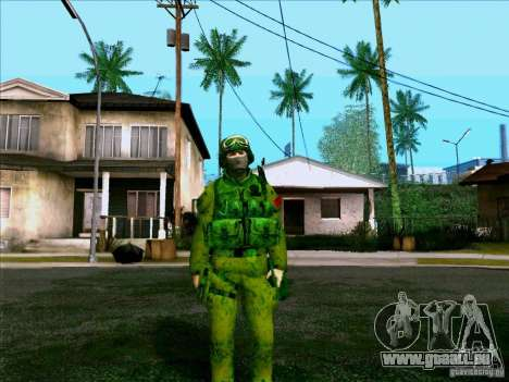 Camouflage forêt Morpeh pour GTA San Andreas