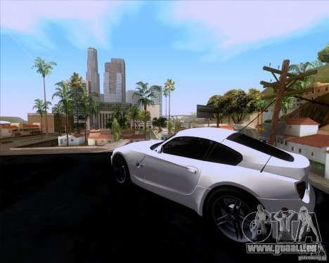 BMW Z4 M Coupe pour GTA San Andreas laissé vue