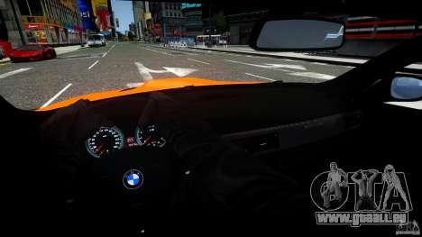 BMW M3 GT-S für GTA 4 obere Ansicht