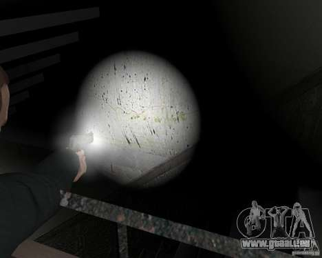 Flashlight for Weapons v 2.0 pour GTA 4 neuvième écran
