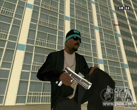 Chrome Weapon Pack pour GTA San Andreas deuxième écran