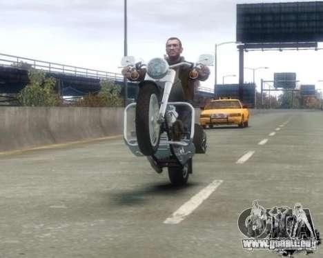 Harley Davidson FLSTF Fat Boy pour GTA 4 est un droit