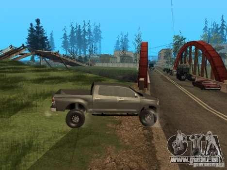 Toyota Tacoma 2011 für GTA San Andreas rechten Ansicht