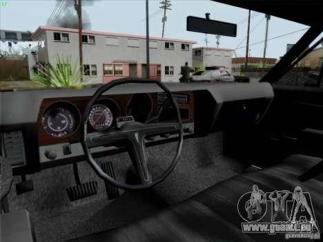 BETOASS car für GTA San Andreas Rückansicht