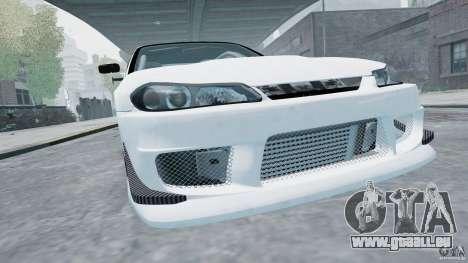Nissan Silvia S15 pour GTA 4 Vue arrière de la gauche