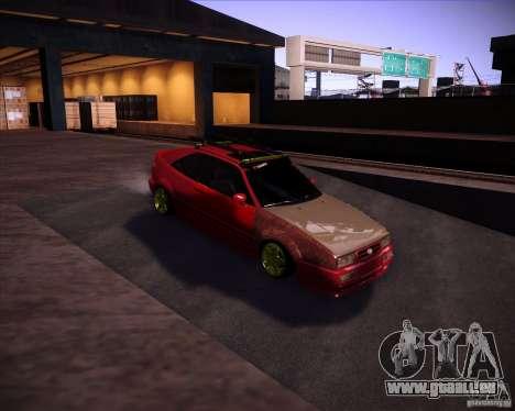 Volkswagen Corrado Rathella pour GTA San Andreas vue arrière