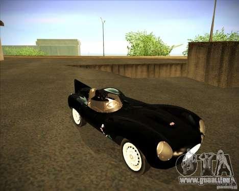 Jaguar D type 1956 pour GTA San Andreas laissé vue