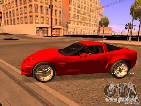 Chevrolet Corvette Z06 für GTA San Andreas rechten Ansicht