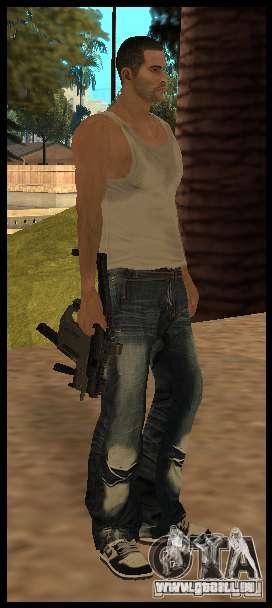 [Point Blank] KRISS SUPER V [Black] für GTA San Andreas zweiten Screenshot