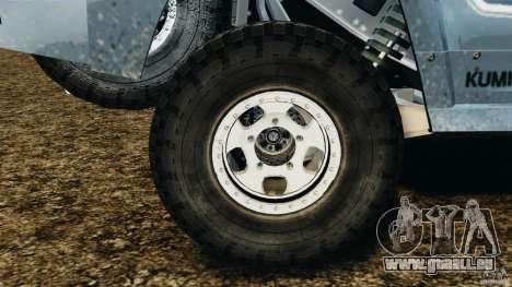 Hummer H3 raid t1 pour GTA 4 est un côté