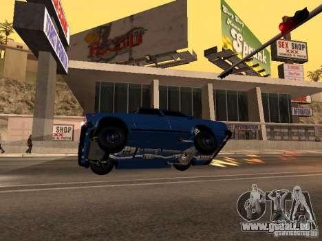 VAZ 2107 Bakou pour GTA San Andreas vue de droite