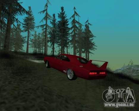Dodge Charger Daytona für GTA San Andreas rechten Ansicht