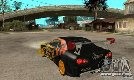 Tuneable Elegy v0.1 für GTA San Andreas zurück linke Ansicht