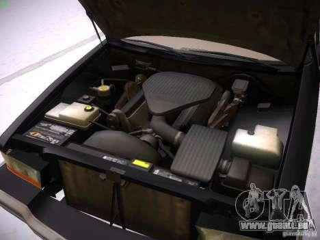 Buick Roadmaster 1996 pour GTA San Andreas vue arrière