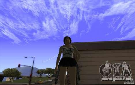 Kaileena big fan für GTA San Andreas zweiten Screenshot