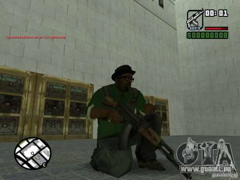 Black Weapon by ForT für GTA San Andreas her Screenshot