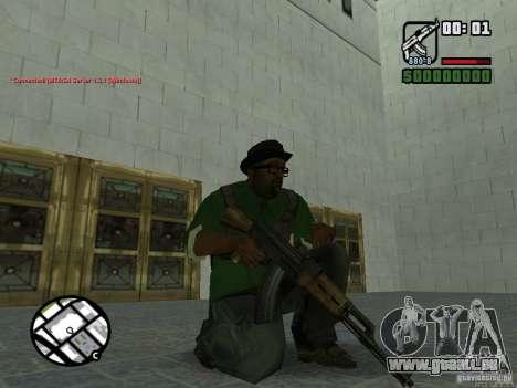 Black Weapon by ForT pour GTA San Andreas quatrième écran