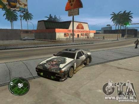 Fantôme vynyl pour Elegy pour GTA San Andreas