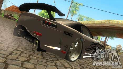 Mazda RX-7 Veilside Logan für GTA San Andreas zurück linke Ansicht