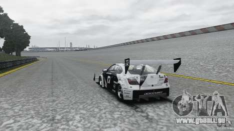 Toyota Team NFS AWD Scion tC für GTA 4 hinten links Ansicht