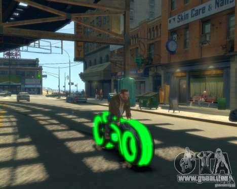 Motorrad des Throns (neongrün) für GTA 4 rechte Ansicht