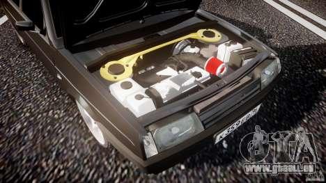 Lada VAZ 2109 pour GTA 4 est une vue de dessous