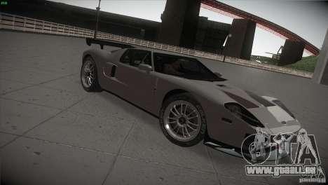 Ford GT für GTA San Andreas rechten Ansicht