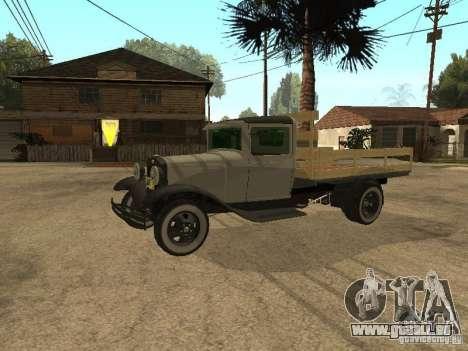 FORD AA pour GTA San Andreas laissé vue