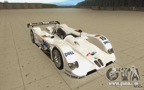 BMW V12 LeMans - Stock für GTA San Andreas Rückansicht