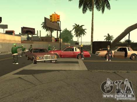The Akatsuki gang für GTA San Andreas siebten Screenshot