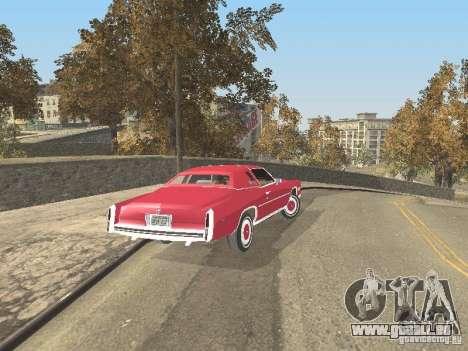 Cadillac Eldorado pour GTA San Andreas vue intérieure