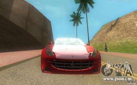 Ferrari FF pour GTA San Andreas vue de droite