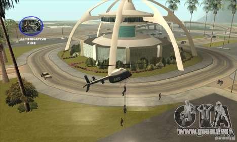 Police Maverick 2 für GTA San Andreas rechten Ansicht