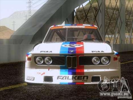 BMW CSL GR4 pour GTA San Andreas vue de droite
