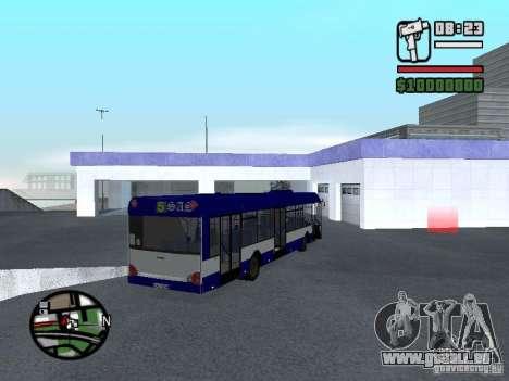 Solaris Urbino 12 für GTA San Andreas rechten Ansicht