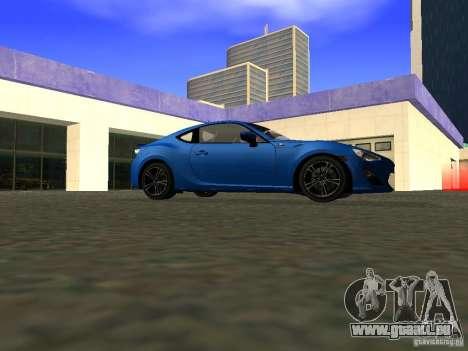 Toyota GT86 Limited pour GTA San Andreas vue arrière