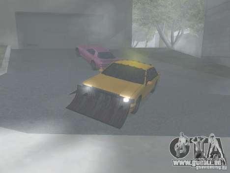 Zombie Taxi für GTA San Andreas linke Ansicht