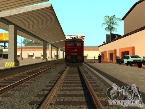 Cs7 CFR 233 pour GTA San Andreas vue de droite