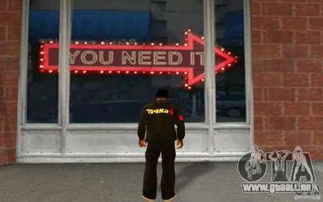 Veste-Point (G) pour GTA San Andreas deuxième écran