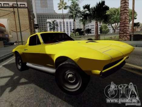 Chevrolet Corvette 1967 für GTA San Andreas