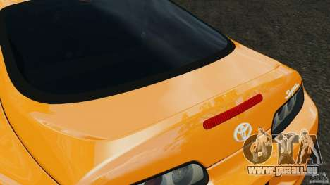 Toyota Supra Tuning für GTA 4 Innen