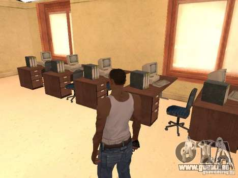 L'entrée à l'hôpital de Los Santos pour GTA San Andreas huitième écran