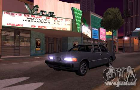 New Sentinel pour GTA San Andreas