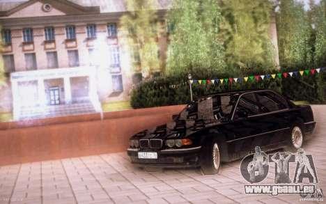 BMW 750i E38 2001 pour GTA San Andreas