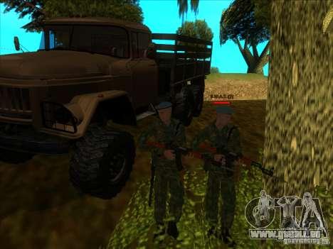 Les troupes aéroportées ! pour GTA San Andreas